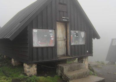 3720 méteren lévő menedékház