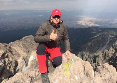aklimatizációs mászás 4400 méteren