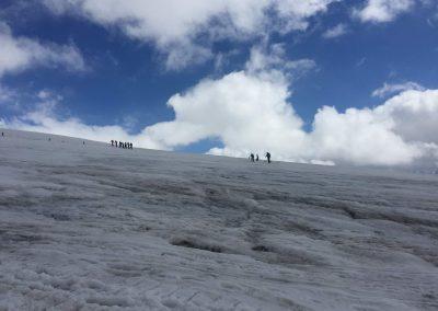 aklimatizációs túra kb 4000 méteren
