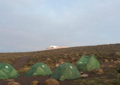 sátrak és a csúcs